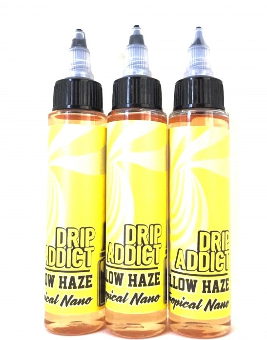 Yellow Haze E-Juice by Drip Addict Review