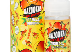 Mango Tango Sour Straws by Bazooka Tropical Thunder Review