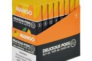 Mango Mint by Delicious Pods Nicotine Salt 1ml Pre-Filled Replacement Compatible Pods Review