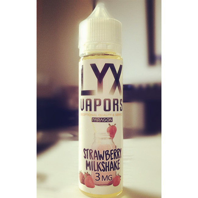 Strawberry Milkshake E-Liquid by LYX Vapors Review