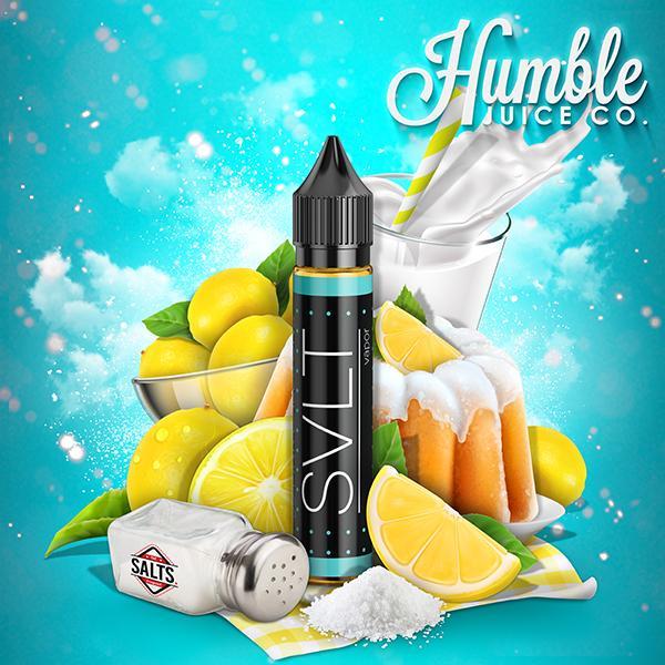 Lemon Cake High Nicsalt E-liquid by SVLT Vapor Review
