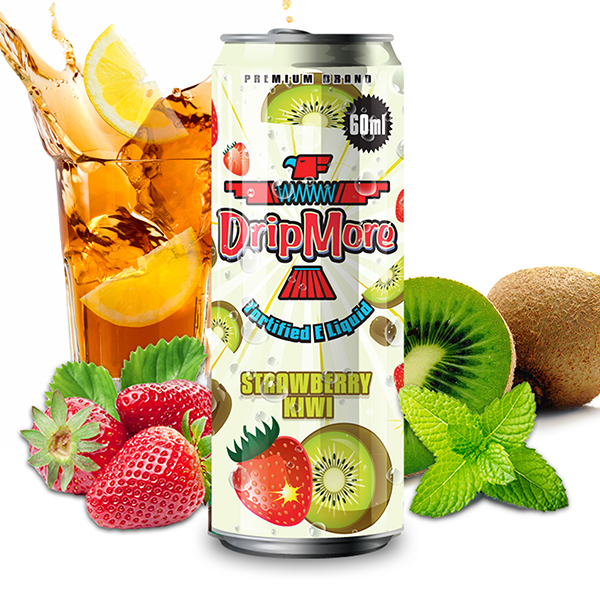 Drip More Strawberry Kiwi E-Liquid Review