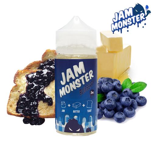 Blueberry E-Liquid by Jam Monster Review