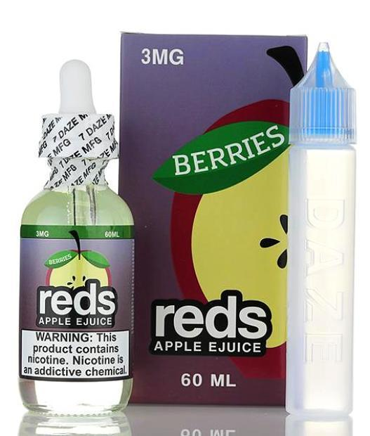 Reds E-Juice's Berries Apple Review