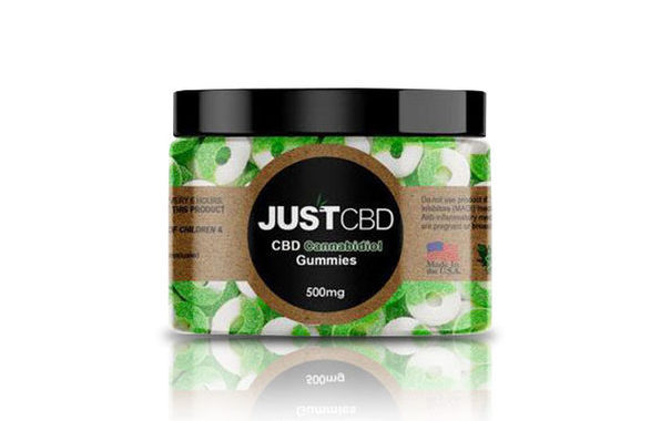 Just CBD Apple Ring Gummy Review