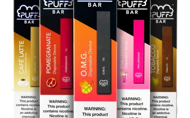 Puff Bar Disposable Pod Device by Puff Review