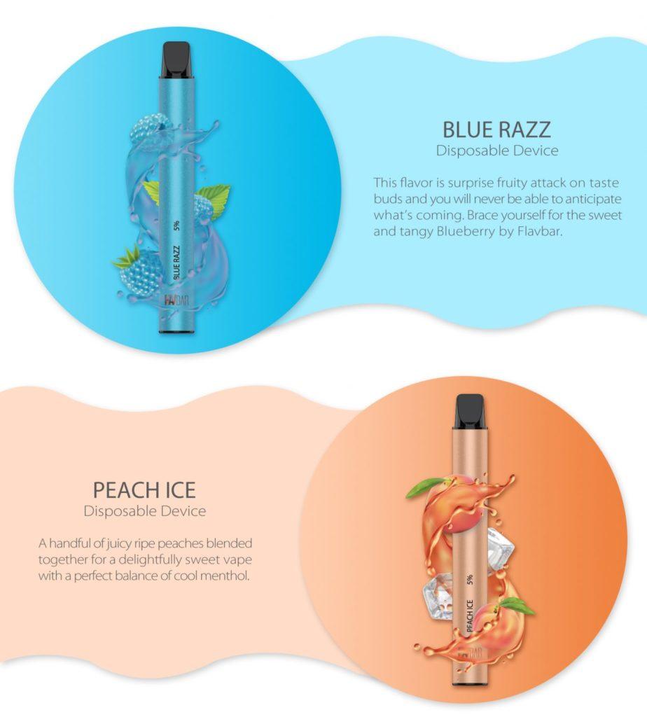 Blue Razz Flavbar V2 Disposable Vape by FLAVBAR Review