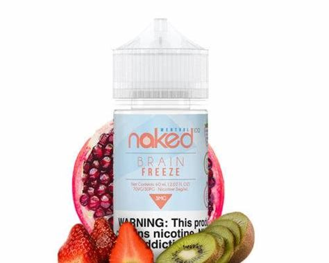 Naked 100 Menthol Strawberry POM Ejuice  Review