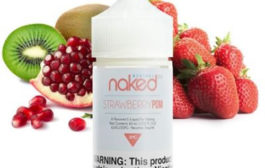 Strawberry POM (Brain Freeze) Vape Juice by Naked 100 Review