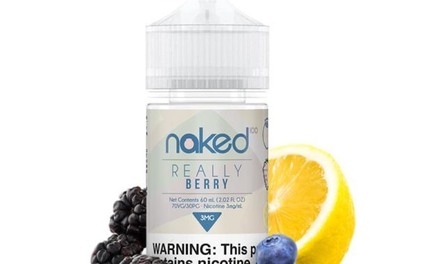 Berry (Really Berry) E-liquid by Naked 100 Review