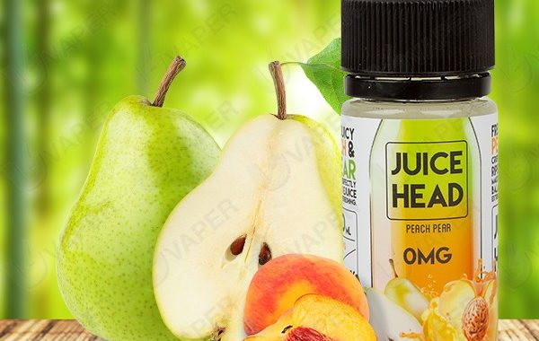 Peach Pear e-Liquid by Juice Head Reveiw