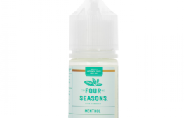 Menthol Tobacco Nicotine Salt E-juice by Four Seasons E-liquid Review